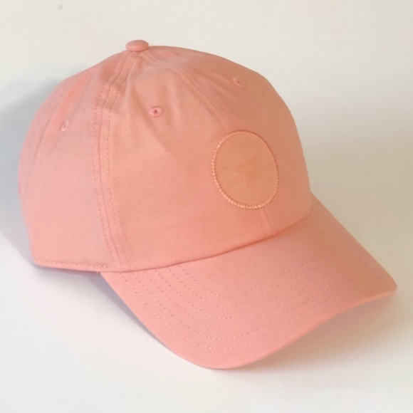 Converse All Star Baseball Hat Cap Pale Coral NWT